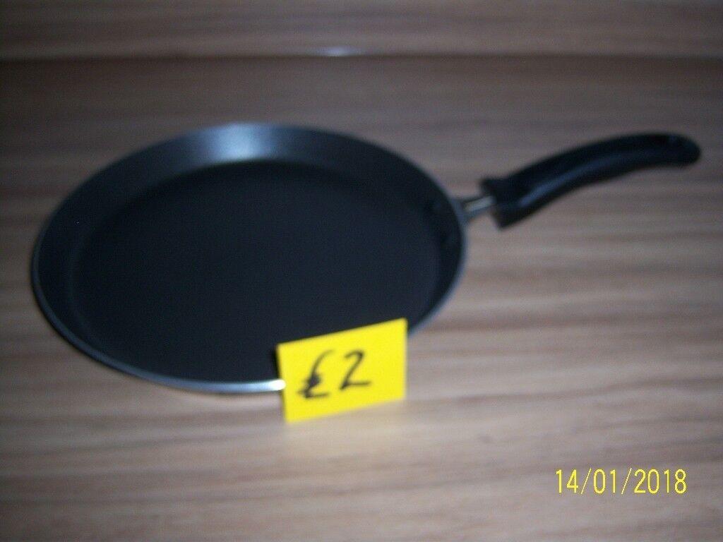 Large frying pan.