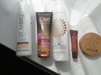 STILA MIRRORED COMPACTAND 4 OTHER BRONZING ITEMS