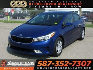 2017 Kia Forte LX  / backup camera / Bluetooth / Heated seats.