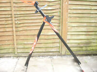 elite essential bicycle workstand. As new. used once. In box.