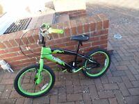 Boys Cosmic Crossfire Green Bike
