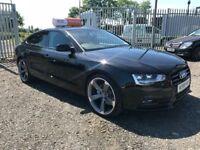 Late 2013 Audi A5 2.0 TDI Sportback **Black Edition Style** (A4,A6,520D,C220)