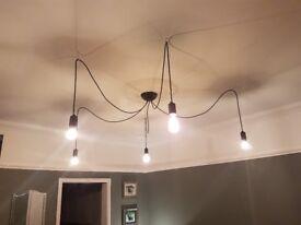 Spider ceiling light