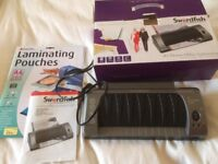 Laminator A4 Swordfish 230LR with laminating pouches