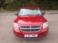 DODGE CALIBER SXT D DIESEL CAR
