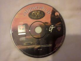 Oddworld Abe's Oddysee Sony PS1 PAL **Disc Only