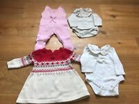 0-3 months baby girl outfits