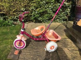 Tricycle -pink and orange