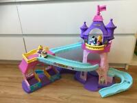 Fisher price little people - Disney stable castle horse