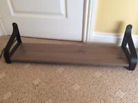 wooden wall shelve
