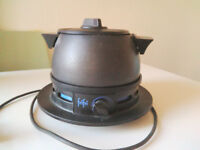Cheese or Chocolate FONDUE SET for 2 people, electric, perfect for student flat.