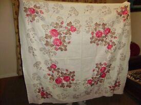 Tablecloth, Linen tablecloth x 2, lovely design