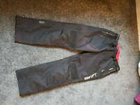 New cordura xxl waterproof motorcycle trousers with removable thermal in trousers