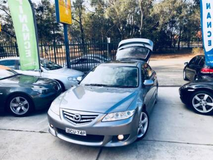 Luxury Sports 2003 Mazda 6 Auto JULY 2018 REGO SUNROOF MAGS 4 Cyl
