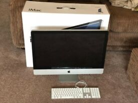 """Apple iMac 27"""" Mid 2011 3.1Ghz Core i5 - for spares / repair - needs a hard drive"""