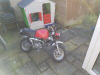 Monkeybike 160cc