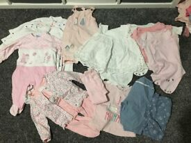 Baby Girls Clothes - 3-6 months - Bundle 1