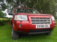 Landrover Freelander 2 GS TD4 (2008) -excellent condition throughout/inside and out.