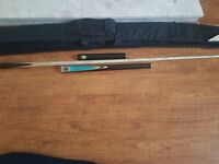 snooker cue limited edition riley burwat 3/4