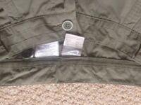Nike khaki shorts- sportswear, UK size 10