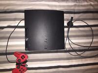 PlayStation 3 slim all leads and controllers