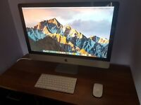 "Apple Imac 27"" Core i7 @ 3.4Ghz, 16GB RAM, 1TB HDD, Radeon HD 6970 2gb ram, Sierra OSX"