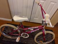 For sale size 20 girls bike