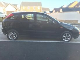 Ford Focus 10 month and mot 600 ono