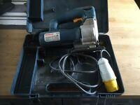 110V Bosch Jigsaw in carry case. Full working order