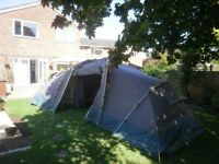 Khyam Quick Erect Ridgi Dome Tourer 400 Tent