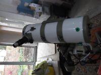 Astrophotography setup.200mm F4 Schmidt Newtonian.Orion optics UK .