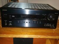 Onkyo home cinema 7.2 AV receiver amplifier - TX-SR608 - Excellent condition