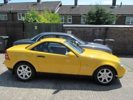 image for Mercedes-Benz SLK 230 Convertible 2000 Rare Yellow Immaculate Condition