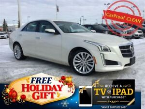 2014 Cadillac CTS 2.0L Turbo Luxury AWD (Bose, Heated Leather)