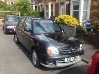 QUICK SALE WANTED FOR LOVELY NISSAN MICRA 1.4 PETROL 2001