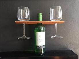 Hand made wine butler in a variety of colours