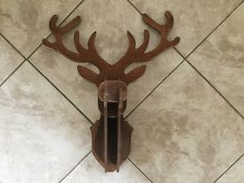 4 wooden piece together-reindeer wall mountable