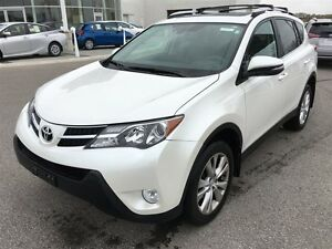 2015 Toyota RAV4 Like New Limited! Loaded Luxury and TOYOTA CERT