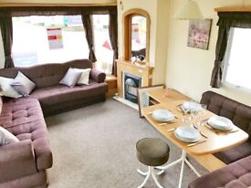 BARGAIN! SITED STATIC CARAVAN WITH SITE FEES! 3 BEDROOMS! BUNK BEDS. 200M TO BEACH. 1HR FROM PBORO