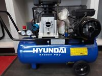 Hyundai 3050 PRO compressor, 3 phase -16 amp