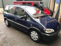 Vauxhall Zafira Club 2.0 Dti (diesel)! 7 Seater mpv! 02-plate! 12mths Mot! Good Runner! £475!!