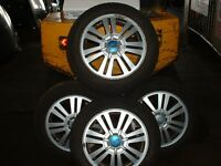 4, Ford Focus ally wheels and good tyres