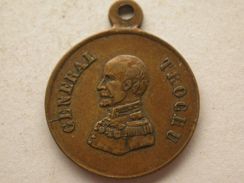 France General Trochu Medal Smaller Than A Dime