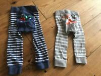 Jojo maman bebe leggings 6-12 months x2
