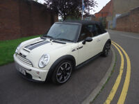 2008 MINI COOPER S CONVERTIBLE SIDEWALK 1.6 PETROL COME WITH 12 MONTHS MOT AN...