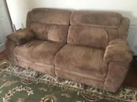 RECLINING SOFA. CAN DELIVER.