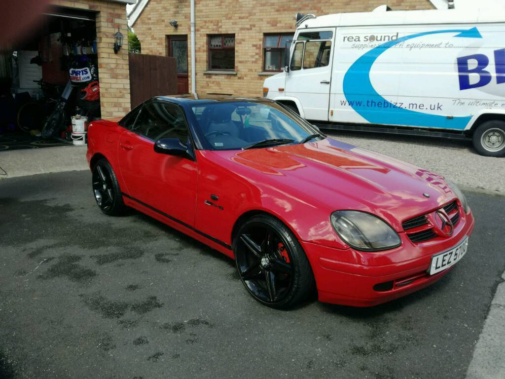 mercedes slk 230 kompressor convertible px for porsche boxster in moira county armagh gumtree. Black Bedroom Furniture Sets. Home Design Ideas