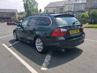 bmw 330d automatic 230 bhp engine and gerbox perfect mot till 09.2018 full leather seats chrem