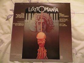 Listzomania Soundtrack original LP