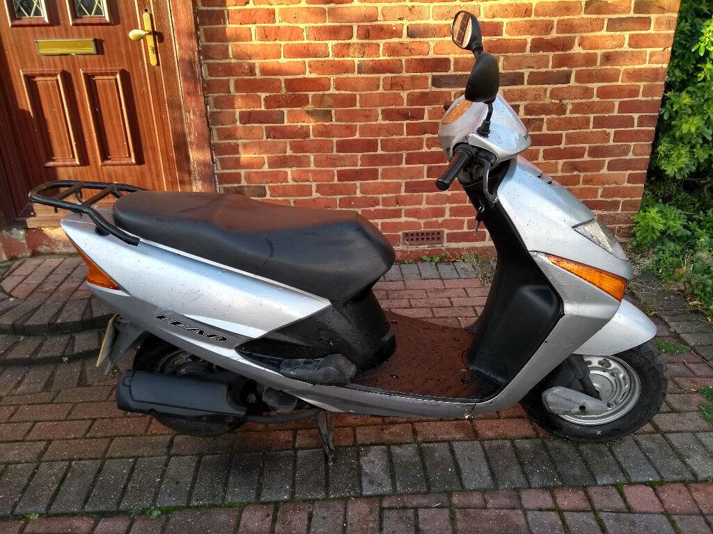 2007 Honda LEAD SCV 100 automatic scooter, new 12 months MOT, good runner,